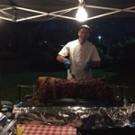 Hog roast catering at venue 360 in Luton