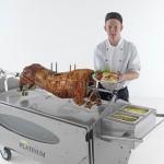 Spittingmn Pig Hertfordshire Chef