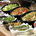 Selection Of Salads And Sides